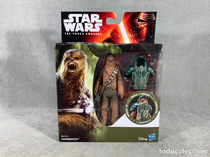 CHEWBACCA STAR WARS THE FORCE AWAKENS - HASBRO - NUEVO SIN ABRIR (Juguetes - Figuras de Acción - Star Wars)