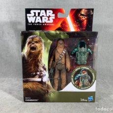 Figuras y Muñecos Star Wars: CHEWBACCA STAR WARS THE FORCE AWAKENS - HASBRO - NUEVO SIN ABRIR. Lote 204783551