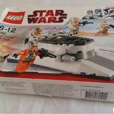 Figuras y Muñecos Star Wars: JUGUETE DE ATAR WARS LEGO 6-12 8083 REBEL TROOPER BATTLE PACK. Lote 205011258