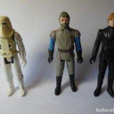 Figuras y Muñecos Star Wars: MAGNIFICAS 3 FIGURAS DE STAR WARS. Lote 205013477