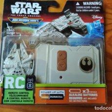 Figuras y Muñecos Star Wars: HALCON MILENARIO A CONTROL REMOTO- STAR WARS MICROMACHINES - SIN ABRIR SIN USO-. Lote 205711566