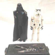 Figure e Bambolotti Star Wars: DARTH VADER Y TROOPER STAR WARS AÑO 1977. Lote 205747820