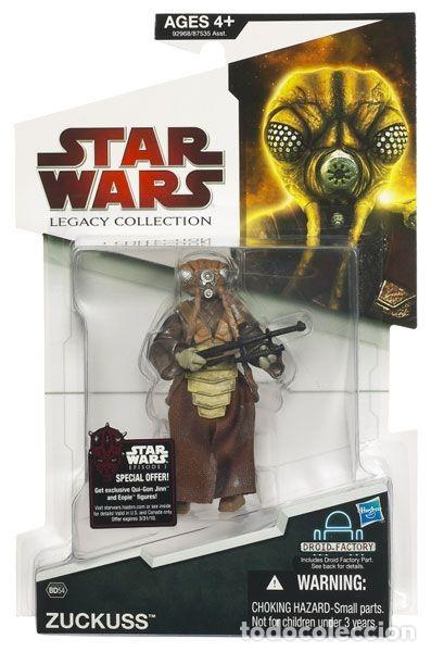 STAR WARS ZUCRUSS LEGACY COLLECTION (Juguetes - Figuras de Acción - Star Wars)