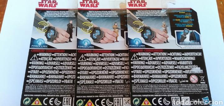 Figuras y Muñecos Star Wars: LOTE DE 3 FIGURAS DE STAR WARS HASBRO - Foto 2 - 206256540