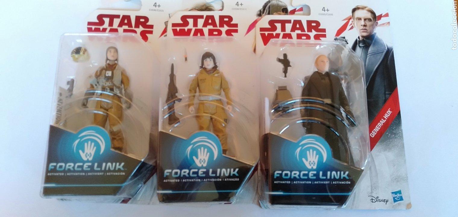 LOTE DE 3 FIGURAS DE STAR WARS HASBRO (Juguetes - Figuras de Acción - Star Wars)