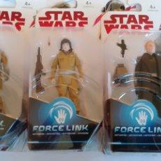 Figuras y Muñecos Star Wars: LOTE DE 3 FIGURAS DE STAR WARS HASBRO. Lote 206256540
