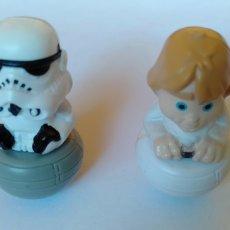 Figuras y Muñecos Star Wars: FIGURITAS DE STAR WARS DE PLÁSTICO. Lote 206262253