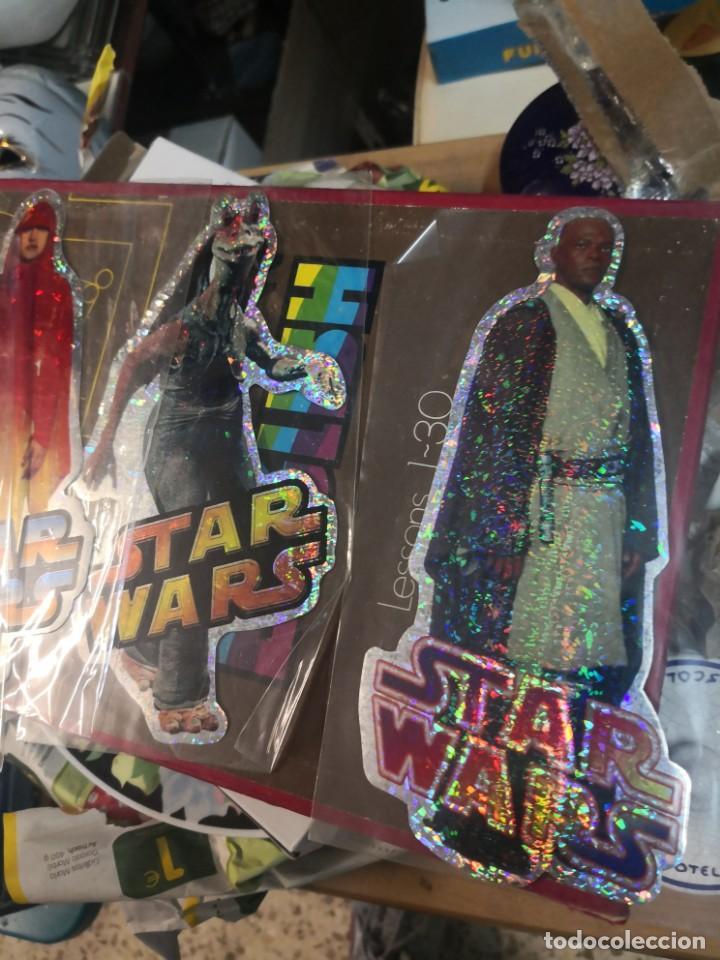 Figuras y Muñecos Star Wars: Coleccion star wars 4 pegatina brillante 20cm aproximadamente - Foto 3 - 206268700