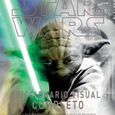 Figuras y Muñecos Star Wars: STAR WARS DICCIONARIO VISUAL COMPLETO LA GUIA DEFINITIVA DE LOS PERSONAJES Y CRIATURAS PLANETA COMIC. Lote 206305012