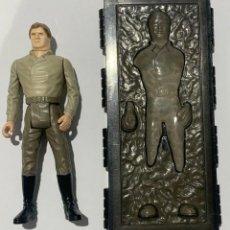 Figuras y Muñecos Star Wars: HAN SOLO CARBONITE COMPLETO LAST 17 STAR WARS KENNER 1984. Lote 206406571