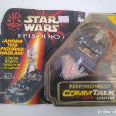 Figuras y Muñecos Star Wars: STAR WARS - EPISODIO I - LECTOR ELECTRÓNICO COMM TALK - HASBRO, 1999 - NUEVO A ESTRENAR SIN ABRIR. Lote 206416598