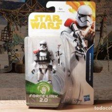 Figuras y Muñecos Star Wars: STAR WARS FIRST ORDER STORMTROOPER OFFICER FORCE LINK 2.0 HASBRO (2017) - NUEVO. Lote 206928596