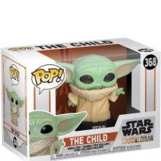 Figuras y Muñecos Star Wars: FUNKO POP! STAR WARS: MANDALORIAN THE CHILD BABY YODA. Lote 206988413