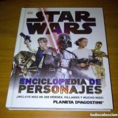 Figuras y Muñecos Star Wars: STAR WARS ENCICLOPEDIA DE PERSONAJES DK PLANETA DE AGOSTINI. Lote 207022141