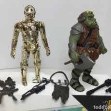 Figuras y Muñecos Star Wars: STAR WARS LOTE FIGURAS Y ACCESORIOS ORIGINALES. Lote 207022508