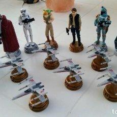 Figuras y Muñecos Star Wars: LOTE 16 FIGURAS STAR WARS LUCASFILM. Lote 207033187