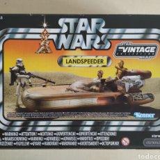 Figuras y Muñecos Star Wars: STAR WARS LANDSPEEDER THE VINTAGE COLLECTION CAJA BLISTER SIN ABRIR KENNER. Lote 207090757