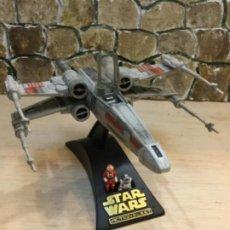 Figuras y Muñecos Star Wars: STAR WARS. NAVE ALA X CON PERSONAJES. ORIGINAL. ANTIGUA. Lote 207233863