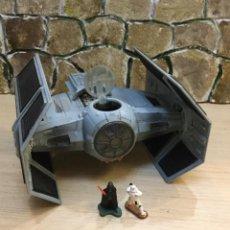 Figuras y Muñecos Star Wars: STAR WARS. NAVE CAZA DART VADER CON FIGURAS. ORIGINAL.. Lote 207285617