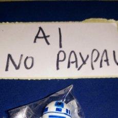 Figuras y Muñecos Star Wars: FICHA FIGURA BUSTO SELLO TAMPON STAR WARS LA RAZÓN PARCHÍS GOMA. Lote 207446277