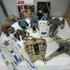 Figuras y Muñecos Star Wars: LOTE STAR WARS NAVES, FIGURAS, MAQUETAS, ÁLBUM COMPLETO, Y MAS.... Lote 207462437