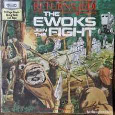 Figure e Bambolotti Star Wars: STAR WARS, THE EWOKS JOIN THE FIGHT- CUENTO ORIGINAL 1983 EN INGLES ALUCINANTES ILUSTRACIONES, 26PGS. Lote 208401413