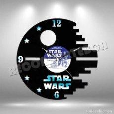 Figuras y Muñecos Star Wars: RELOJ DE DISCO LP DE STAR WARS 2. Lote 208700425