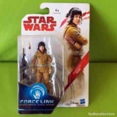 Figuras y Muñecos Star Wars: FIGURA STAR WARS - LOS ÚLTIMOS JEDI - FORCE LINK - ROSE RESISTANCE - NUEVO EN BLISTER A ESTRENAR!!. Lote 227195570