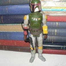 Figure e Bambolotti Star Wars: FIGURA DE BOBBA FETT DE 35 CENTIMETROS DE ALTO. Lote 210093626