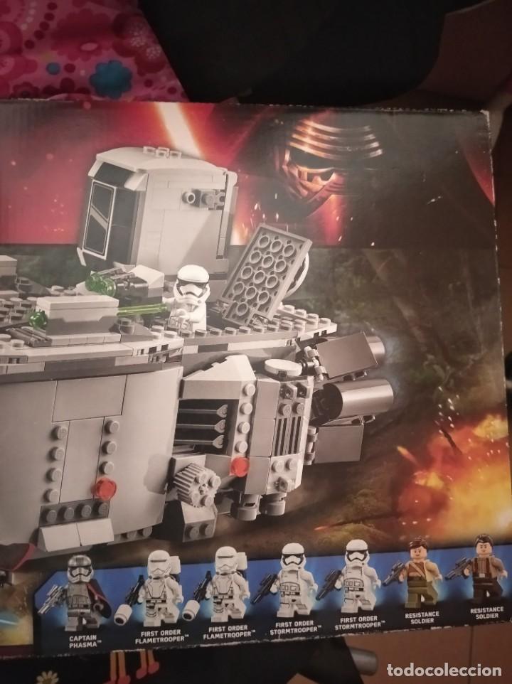 Figuras y Muñecos Star Wars: Star wars Lego first order transporter - Foto 2 - 210152955
