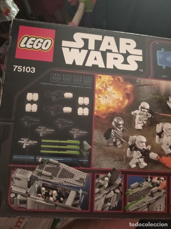 Figuras y Muñecos Star Wars: Star wars Lego first order transporter - Foto 4 - 210152955