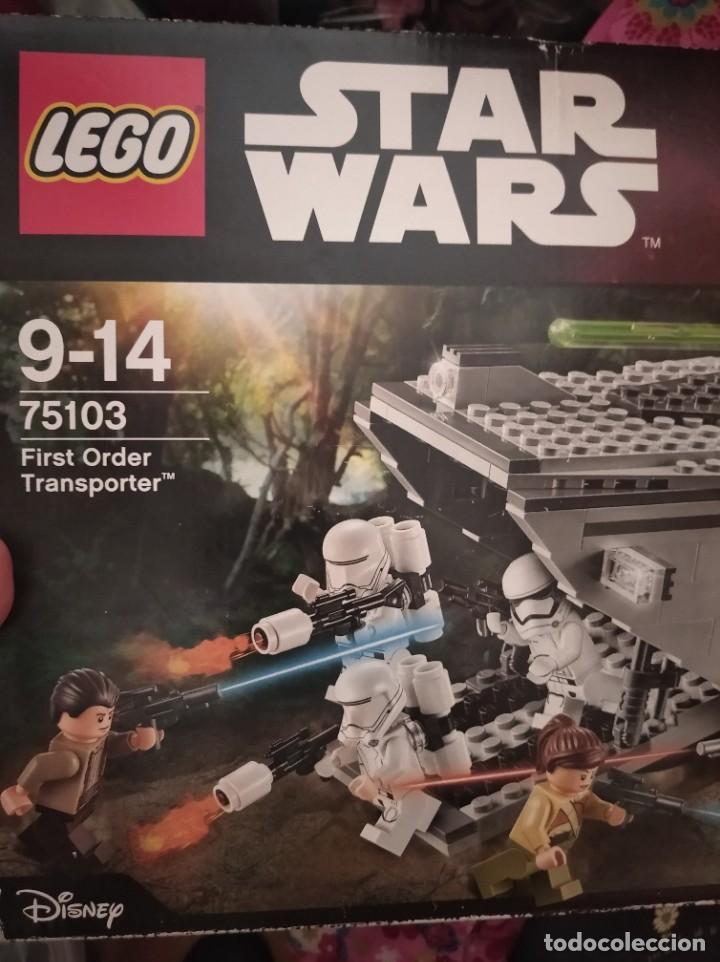 STAR WARS LEGO FIRST ORDER TRANSPORTER (Juguetes - Figuras de Acción - Star Wars)
