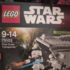 Figuras y Muñecos Star Wars: STAR WARS LEGO FIRST ORDER TRANSPORTER. Lote 210152955