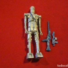 Figure e Bambolotti Star Wars: STAR WARS IG-88 VINTAGE - RIFLE Y BLASTER ORIGINALES !!!!. Lote 210264426