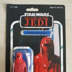 Figuras y Muñecos Star Wars: STAR WARS EMPEROR'S ROYAL GUARD RETURN OF THE JEDI FIGURA,BLISTER Y CARTON REPRO KENNER. Lote 210967774