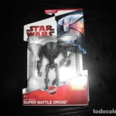 Figuras y Muñecos Star Wars: STAR WARS. THE CLONE WARS. SUPER BATTLE DROID. CW11.NUEVO EN SU BLISTER ORIGINAL.. Lote 210972377