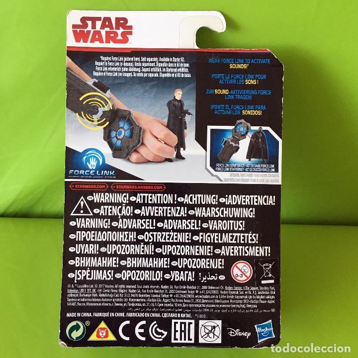 Figuras y Muñecos Star Wars: FIGURA STAR WARS - LOS ÚLTIMOS JEDI - FORCE LINK - GENERAL HUX - NUEVO EN BLISTER A ESTRENAR!! - Foto 2 - 226639401