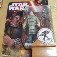 Figuras y Muñecos Star Wars: BLISTER STAR WARS THE FORCE AWAKENS UNKAR PLUTT SIN ABRIR. Lote 211676865