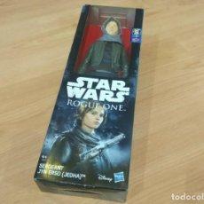Figuras y Muñecos Star Wars: STAR WARS ROGUE ONE : SERGEANT JYN ERSO. HASBRO. 30 CM. A ESTRENAR EN BLISTER.. Lote 211963896