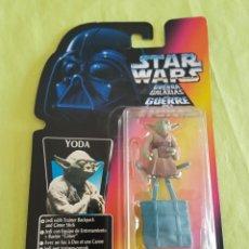 Figuras y Muñecos Star Wars: FIGURA YODA STAR WARS ,FABRICANTE KENNER 1995. Lote 212244272