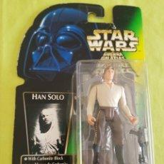 Figuras y Muñecos Star Wars: STAR WARS HAN SOLO WHIT CARBONITE BLOCK. Lote 212248555