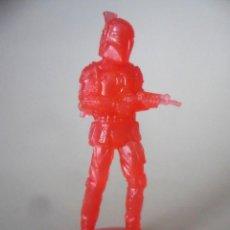 Figuras y Muñecos Star Wars: STAR WARS BOBA FETT FIGURA TRANSPARENTE DE 5 CM. Lote 212462422
