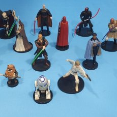Figuras y Muñecos Star Wars: 15 FIGURAS PVC STAR WARS - DISNEY - VIETNAM. Lote 213139381