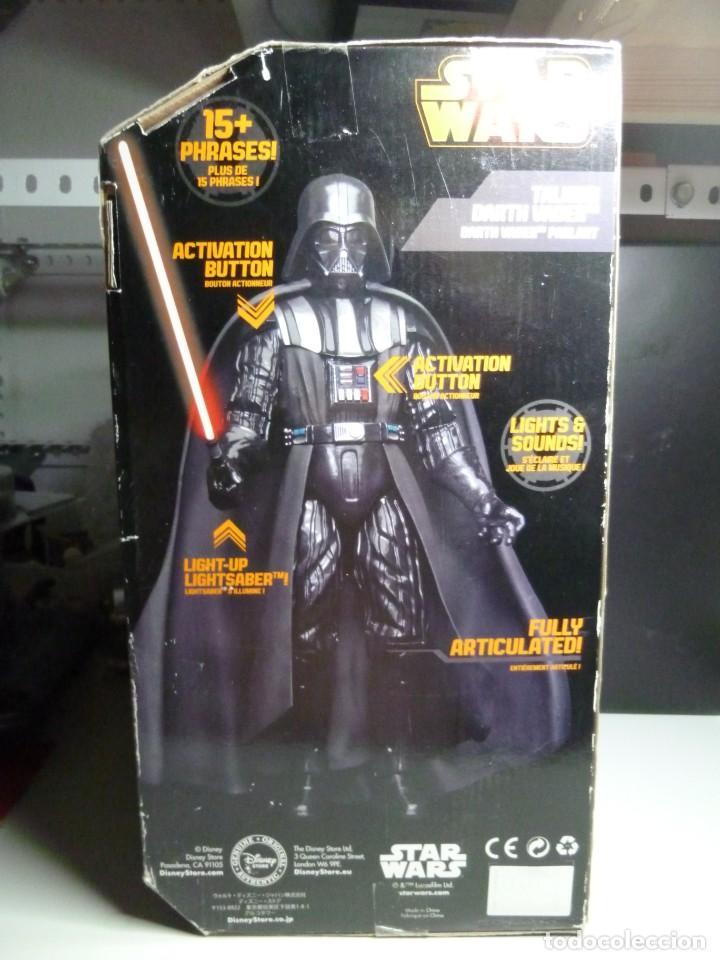 Figuras y Muñecos Star Wars: FIGURA DARTH VADER CON SONIDOS - Foto 3 - 213514440