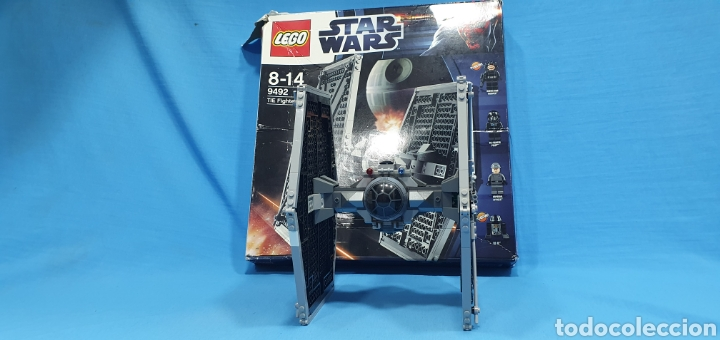 NAVE STAR WARS - TIE FIGHTER 9492 - LEGO (Juguetes - Figuras de Acción - Star Wars)