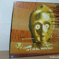"""Figuras y Muñecos Star Wars: HASBRO STAR WARS MASTERPIECE EDITION C-3PO FIGURE 12"""" + LIBRO 1999 LIMITED EDIT.. Lote 213637371"""