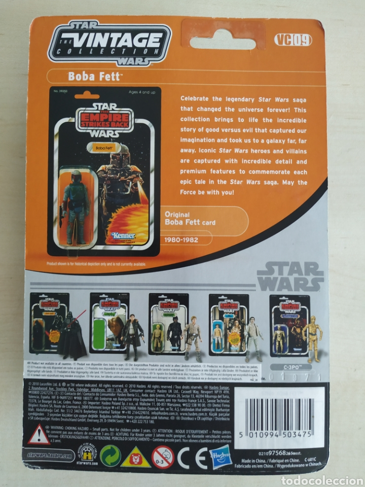 Figuras y Muñecos Star Wars: STAR WARS BOBA FETT THE EMPIRE STRIKES BACK THE VINTAGE COLLECTION KENNER (LEER DESCRIPCION) - Foto 2 - 213733310