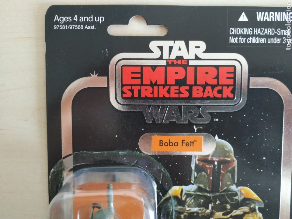 Figuras y Muñecos Star Wars: STAR WARS BOBA FETT THE EMPIRE STRIKES BACK THE VINTAGE COLLECTION KENNER (LEER DESCRIPCION) - Foto 3 - 213733310