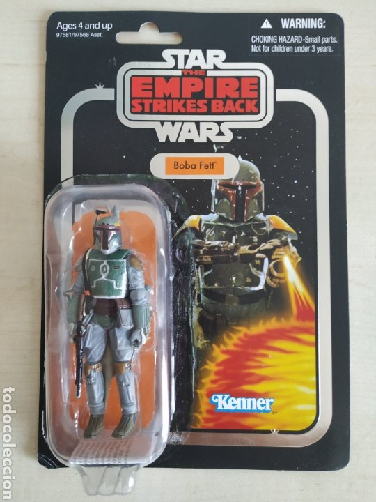 STAR WARS BOBA FETT THE EMPIRE STRIKES BACK THE VINTAGE COLLECTION KENNER (LEER DESCRIPCION) (Juguetes - Figuras de Acción - Star Wars)