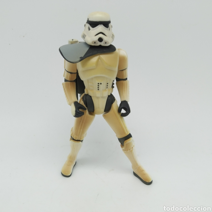 Figuras y Muñecos Star Wars: Dewback y Sandtrooper de Star Wars LFL Kenner año 1997 The Power of the Force - Foto 7 - 213743232